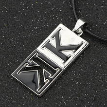 K Missing Kings K Return Of Kings Necklace Logo Isana Yashiro Pendant Leather Rope Cosplay Anime Jewelry Wholesale