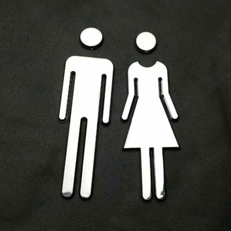 HTB1noKibej85uJjSZFuq6AwyFXaW Adhesive MEN WOMEN  For The Toilet Door