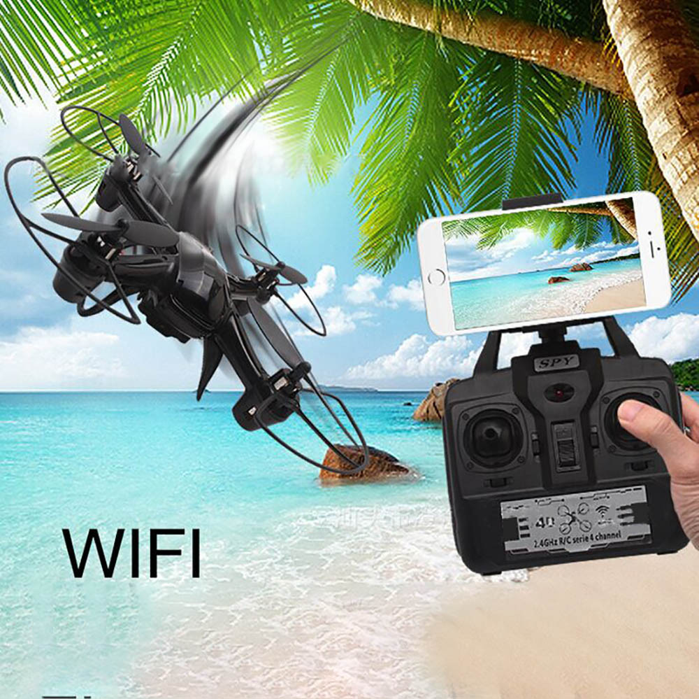 Mini Drone Headless DM003 Drone 2.4G 4CH 6-Axis Mini RC Gyro Quadcopter with 0.3MP WIFI Camera RC helicopter RC toy<br><br>Aliexpress