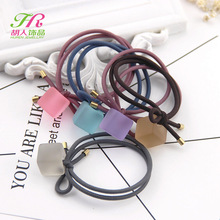 New Korean Women Gum For Hair Pearls Beads Elastic Hair Band/Ties Ponytail Holder Hair Accessories