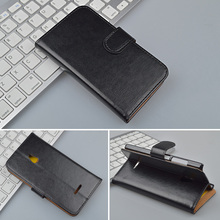 Crazy Horse Wallet Leather Case For Nokia XL Flip Cover with Stand and Bank Card Holder 4 Colors Available