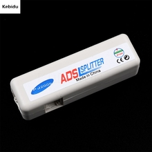 kebidu RJ11 ADSL Line Splitter Adapter DSL MicroFilter Fax Modem Broadband Phone Network Jack Noise Filter(China)