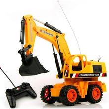 Time-limited Hot Sale Mode2 Rc Car Wltoys Rc Excavator Multi-function Radio Remote Control Truck Kids Sandy Beach Toys