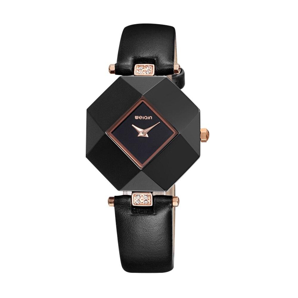 Hot Sale Women Watches Fashion Leather Japan Movt Quartz Watch Woman Dress Ladies Watch Unique Dial 3ATM Clock relojes mujer<br>
