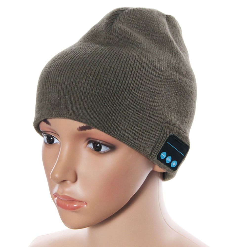Unisex Fashion New Soft Warm Skullies Beanie Hat Wireless Bluetooth Smart Cap Headset Headphone Speaker Mic Bluetooth Hat Nov23Îäåæäà è àêñåññóàðû<br><br><br>Aliexpress