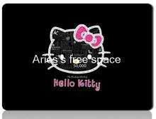 hello kitty padmouse black mousepad can washed gaming mouse pad gamer large notbook computer mouse mat 8size for gear mouse pad(China)