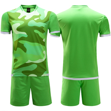 New Kids Footbal Kits Boys Soccer Training Suits Sports Sets Soccer Jerseys Children Uniforms Sportswear Custom Name Number(China)