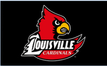 Louisville Cardinals Basketball Banner 3x5ft by polyester with metal Grommets