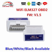 Wholesale Price Super Mini OBD2 Scanner ELM327 WIFI Hardware V1.5 Support Android/iOS/Windows ELM 327 Wi-Fi Auto Diagnostic-tool