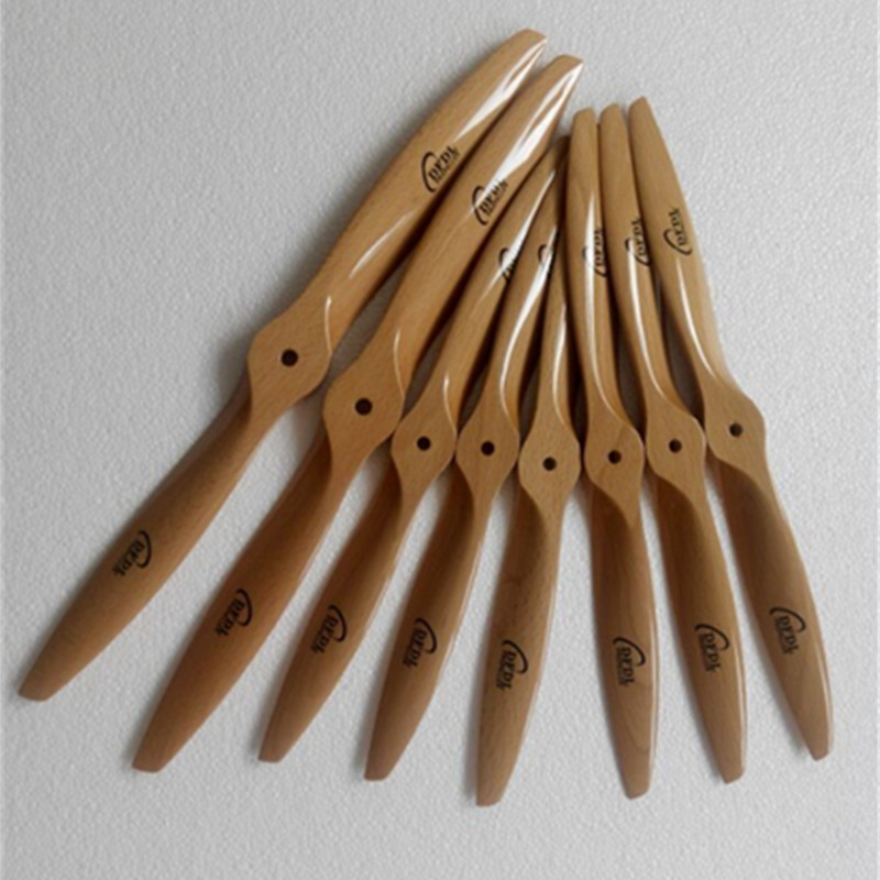 DFDL CCW Wooden /beech 14x6/14x7/14x8/14x10 Propeller 5 pcs/lot High Efficiency For Airplane nitro engine free shipping<br>