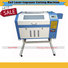Photo Crystal Laser Engraving Machine 4060 With 180mm Motorized Up and down Honey Comb Work Table and Sealed Co2 Glass Tube