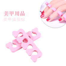 1 pair/Lot Soft Foam Nail Art Tools Toe Separator for Feet Care Finger Separators Nail Art Tools Pedicure Feet Care Kits