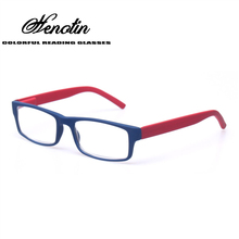 Reading Glasses Men and Women Fashion Eyewears Spring Hinge Colorful Plastic Presbyopia Glasses