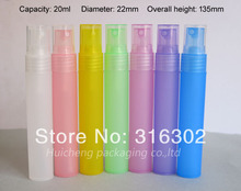 300 x 20ml Plastic PP Mist Spray Bottle Fragrance  Packaging Atomizer 5ml,8ml 10ml15ml is available