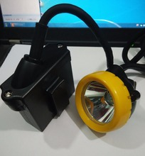 3W 10000 LX Lithium Battery LED Mining Lamp, mining light lithium ion headlamp IP68+ free shipping