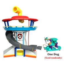 Patrulla Canina Juguetes Canine Patrol Dog Big Toys Russia Anime Doll Car park Patrol Puppy Gift Everest Dog Action Toy Figures