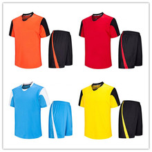 Wholesale team college football jerseys best quality soccer uniforms sport suit men cheap soccer jersey kids LD-5011(China)
