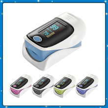 Portable OLED Finger-tip Pulse Oximeter Digital Finger Oximeter Blood Pressure Oxygen Saturation Spo2 Pulse Rate Alarm Monitor(China)