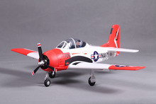 FMS 800MM / Mini Warbird T28 T-28 Trojan V2 Red PNP Duralble EPO Scale Radio Control RC MODEL PLANE