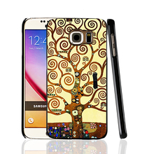 00165 gustav klimt tree of life cell phone protective case cover for Samsung Galaxy A3 A5 A7 A8 A9 2016