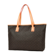 Free shipping Classic Women Shopping Bag Fashion Canvas Handbags Shoulder real leather Bag