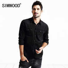 Buy SIMWOOD Brand Clothing 2018 New Spring Shirts Men Long Sleeve Fashion Casual Cotton shirts high CS1554 for $23.87 in AliExpress store