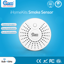 NEO Coolcam iHome Kits NAS-MS01T Wireless Alarm System Smoke Sensor For Home Security(China)