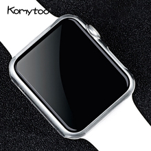 Case For i Watch Series 3 2 1 Clear Case Ultra Thin PC Hard Plastic Transparent Cover 42/38mm For i Watch 3 Series 2 1 Case(China)