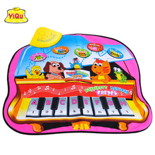 Free shipping Baby toys Children's rug Musical carpet Piano keyboards instruments(China)
