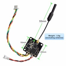 AKK X5 5.8G 40CH with IPEX Antenna Connector 25/50/100/200mW Switchable FPV Transmitter with FC Uart Support OSD Configuring(United States)