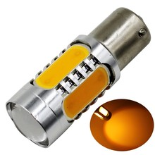 1156 Ba15s S25 P21W 7.5W Super Bright White LED COB SMD Backup Reverse Light Bulb Replace Halogen Lamp White Yellow Red ice blue