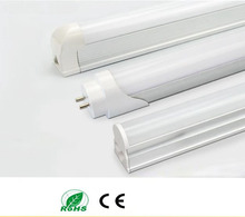 T5 T8 LED Tube Light,Led wall lamp Warm Cold White led fluorescent T5 PVC Plastic Aluminum AC85-265V(China)