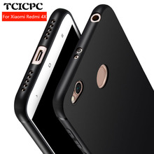TCICPC Xiaomi Redmi 4X case Redmi 4A case Silicone TPU cover 360 full protect Ultra thin matte soft TPU case for Xiaomi Redmi 4X