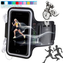 Phone Bag Case for HTC U Ultra / for Samsung Galaxy A9 2016 Smartphone Running Jogging Cycling Arm Band PU Leather Cover Capa