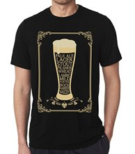 Ment Shirt Summer Style Men's Craft Beer T-shirts - (various Styles) Great For Home Brewers Beer Lovers & Brewery Fans(China)