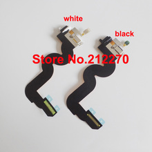 YUYOND 10pcs/lot Original New Charging Charger Dock Port Audio Jack Flex Cable For Apple iPod Touch 5 White/Black