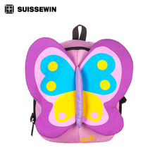 2017 New Arrival Suissewin Designer Baby Bag swissgear wenger Light Weight Fashion Bag For Kids Waterproof School Backpack(China)