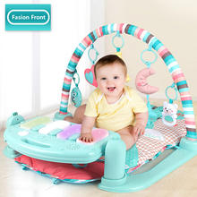 Baby Play Mat Piano Gym, Infant Activity Center, Kick and Play Newborn Toy for Baby 1 - 36 Month, Lay and Play, Tummy Time Play