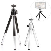Camera Phone Professional Mini Tripod Travel Stand Holder for Gopro hero 5 4 3+ Mobile Phone iPhone Samsung(China)