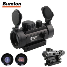 Tactical Holographic 1x40mm Airsoft Cross Hari Reflex Red/Green Dot Sight Aiming Device Scope 11 20mm Rail Mount RL5-0024