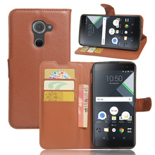 Flip wallet Leather Case for BLACK BERRY DTEK60 case cover with phone stand function and card slots