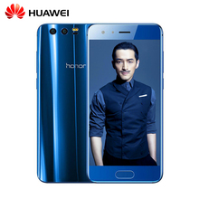 Huawei Honor 9 Smartphone Kirin 960 Octa Core 5.15 ''Dual SIM Android 7.0 Dual Back Camera Infrared Remote(China)