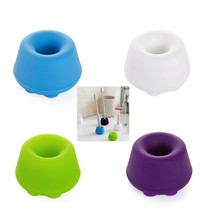 50pcs Silicone Sucker Stand Base Holder for Toothbrush, Shaver