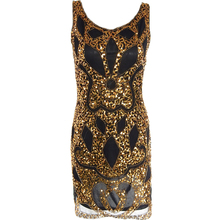Sexy Sequin Dress Women Evening Party Dresses Black Gold Vestidos Bodycon Club wear Novelty Vintage Great Gatsby Woman Clothes