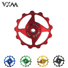 VXM Bicycle Rear Derailleurs Pulley 11T 13T MTB Road Bike Guide Cycling Pulley Roller Idler Bearing Jockey Wheel Bicycle Parts(China)