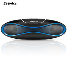 EasyAcc Bluetooth Speaker 4.2 Outdoor Water Resistant Speaker Portable and Mini Speaker Black for IOS Android Xiaomi