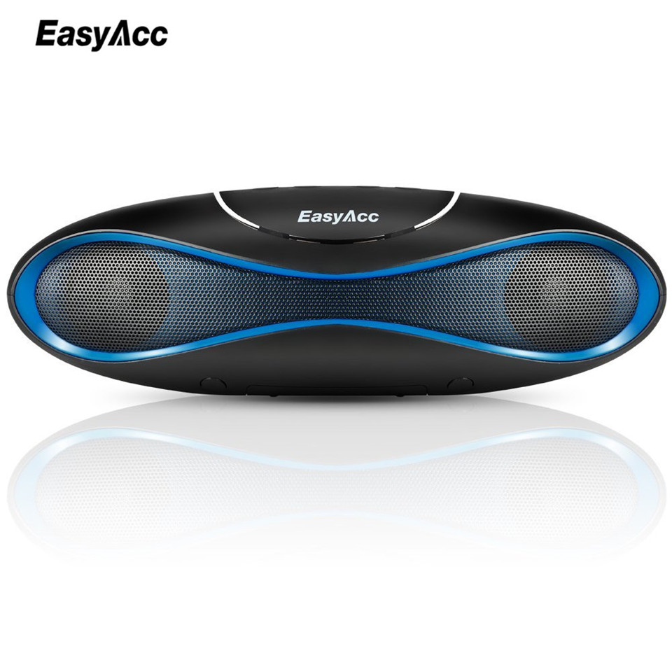 EasyAcc Bluetooth Speaker 4.2 Outdoor Water Resistant Speaker Portable and Mini Speaker Black for IOS Android Xiaomi(China (Mainland))