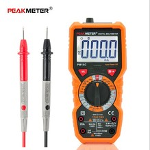 Digital Multimeter Multimetro Voltage Current Resistance Tester Capacitance Frequency Temperature hFE NCV multimetre digitale