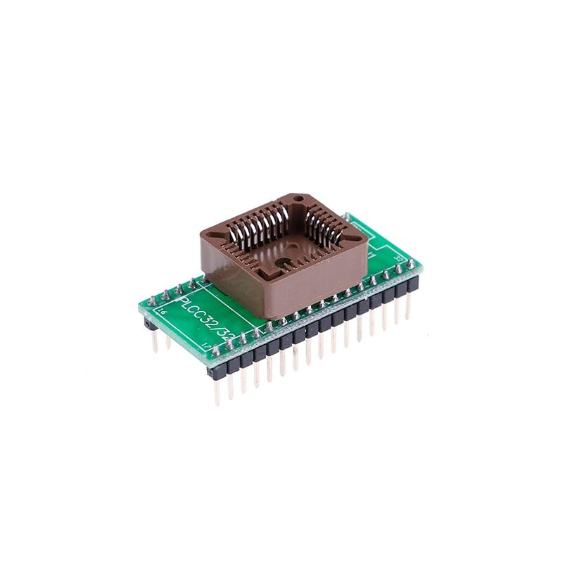 Plcc32 To Dip32 Programmer Adapter Ic Socket Converter Module