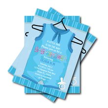 20pcs Little man shirt baby shower birthday party invitations Mustache Birthday Invites boys party decoration party supplier